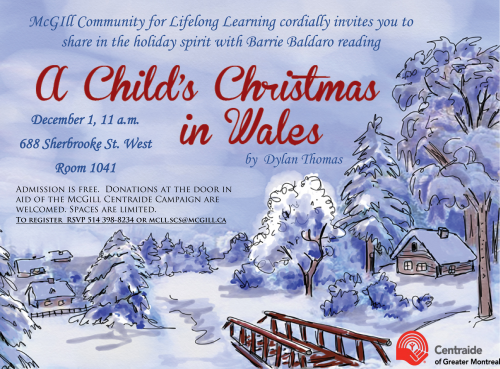 Christmas in Wales poster