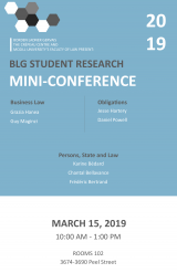 BLG Student Research Conference Poster 2019