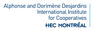 Alphonse and Dorimène Desjardins International Institute for Cooperatives | HEC Montréal