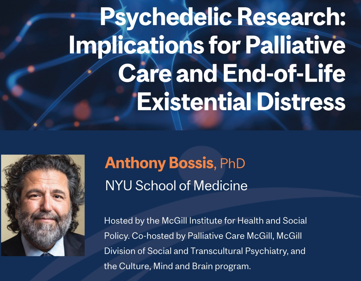 McGill Institute for Health and Social Policy Lecture