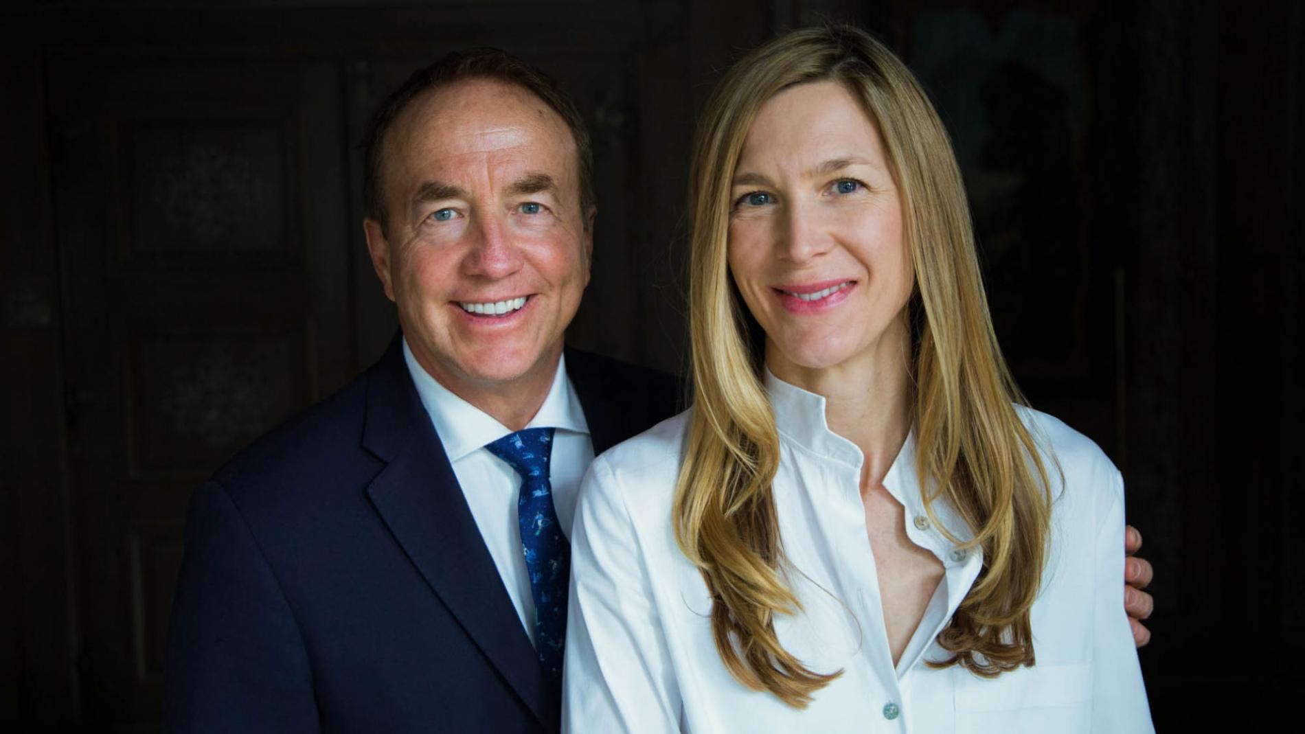 Photo of John and Marcy McCall MacBain