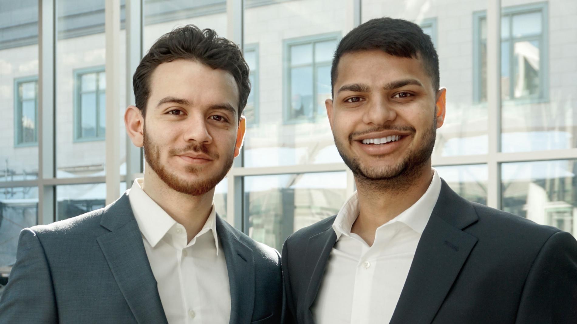 Photo of Sanchit Gupta and Milton Calderon