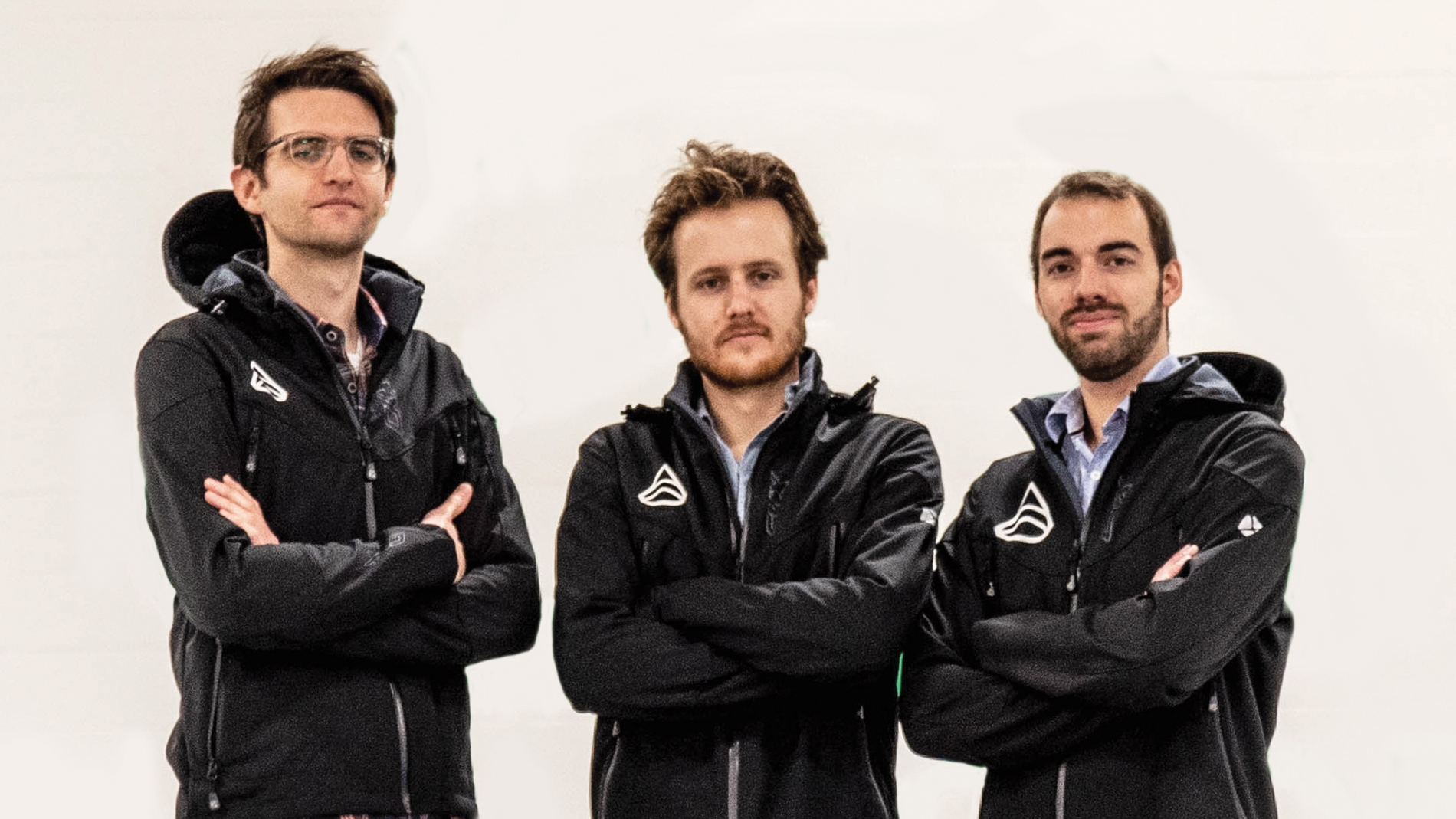 Photo of Paul Achard, Samuel Bruneau and Gabriel Bernatchez