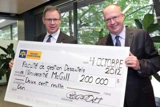 Laurentian Bank Donation