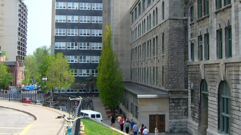 McConnell Engineering Building, home of lab