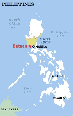 Bataan Export Processing Zone furthermore Studio City Alabang likewise Aetas moreover Relief map likewise Metropoli. on manila location map