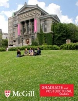 McGill Graduate and Postdoctoral Studies Viewbook