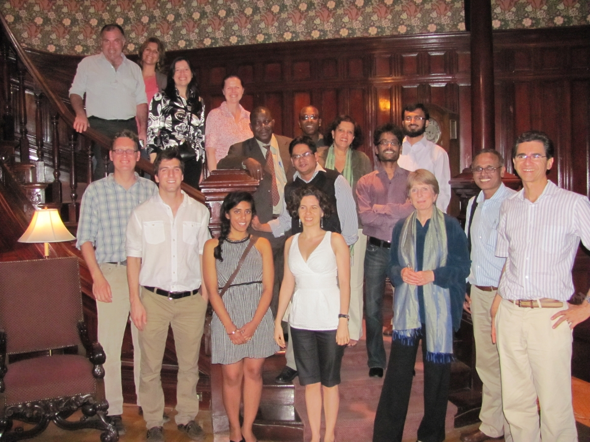The CLEAR Collaboration during their first international meeting at McGill Unive