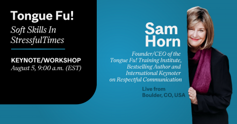 Sam Horn CATS Communications Skills