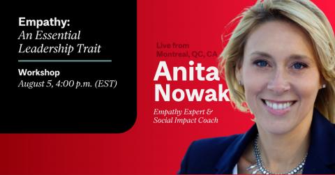 Empathy: An Essential Leadership Trait Anita Nowak McGill CATS