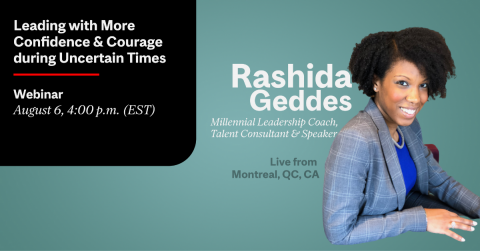 Rashida Geddes -Millennial Leadership Coach McGill CATS