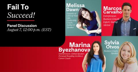 Fail to succeed -Marina Byezhanova,  Sylvia Otvos, Melissa Dawn, Marcos Carvalho,