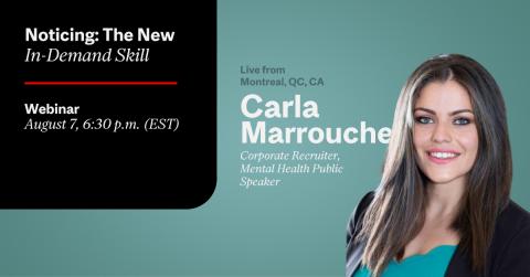 Carla Marrouche Workshops Recruitment McGill CATS