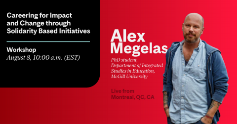 Alex megelas Careering for Impact and Change through Solidarity Based Initiatives