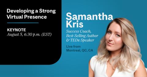 Samantha Kris CATS Strong Virtual Presence Keynote