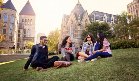 McGill Campus and Students