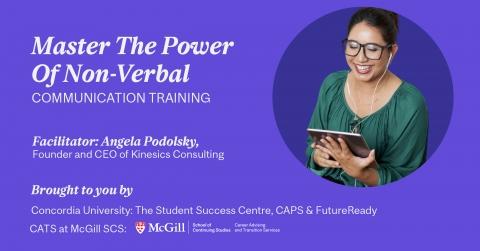Master The Power Of Non-Verbal Communication Training COMMUNICATION & DIGITAL CAPABILITIES