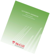 Lecturer's Handbook