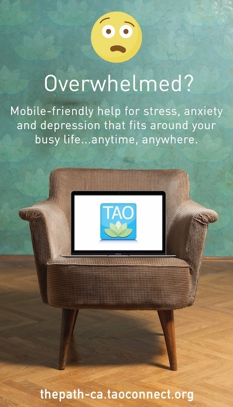 Mobile-friendly help for stress, anxiety, and depression that fits around your busy life.