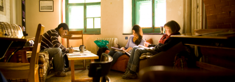 Students in residence