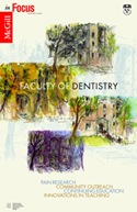 cover of 2007 Faculty of Dentistry newseltter