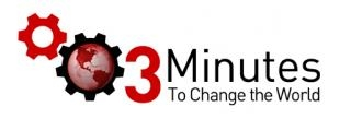 3 minutes to change the world