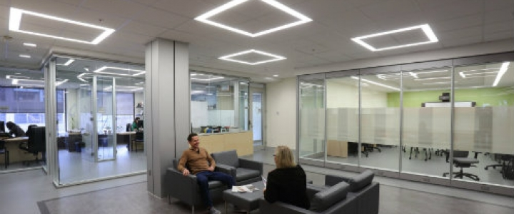 Newly Designed Open Space on the Bronfman 5th Floor