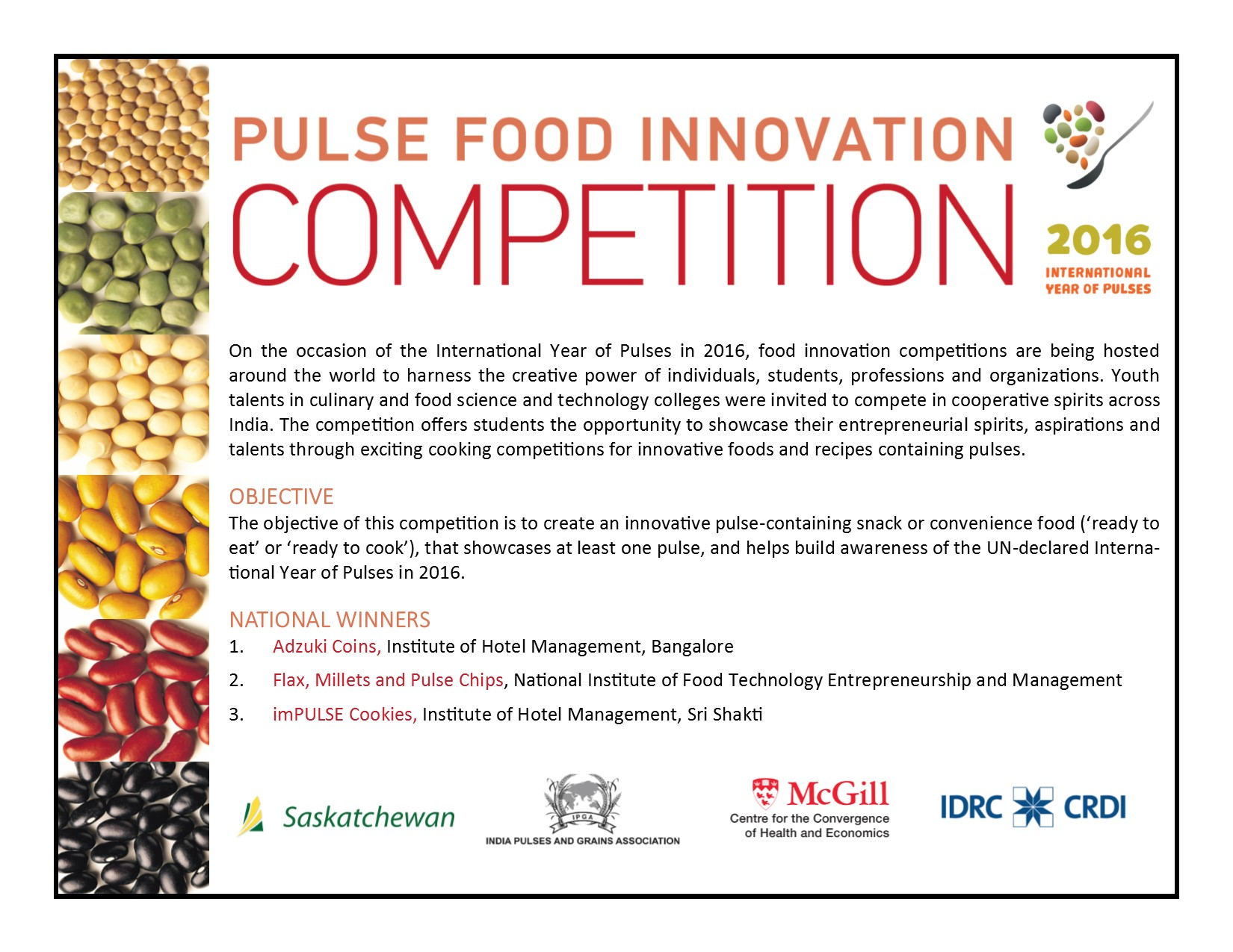 Hotel Pulse Impulse India Pulse Food Innovation Competition Desautels Faculty Of