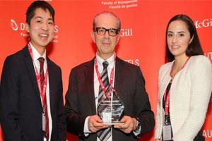 Desautels Management Achievement Awards 2015
