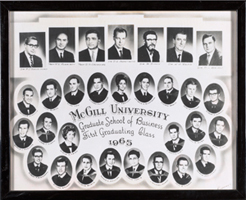 First Graduating MBA Class of 1965