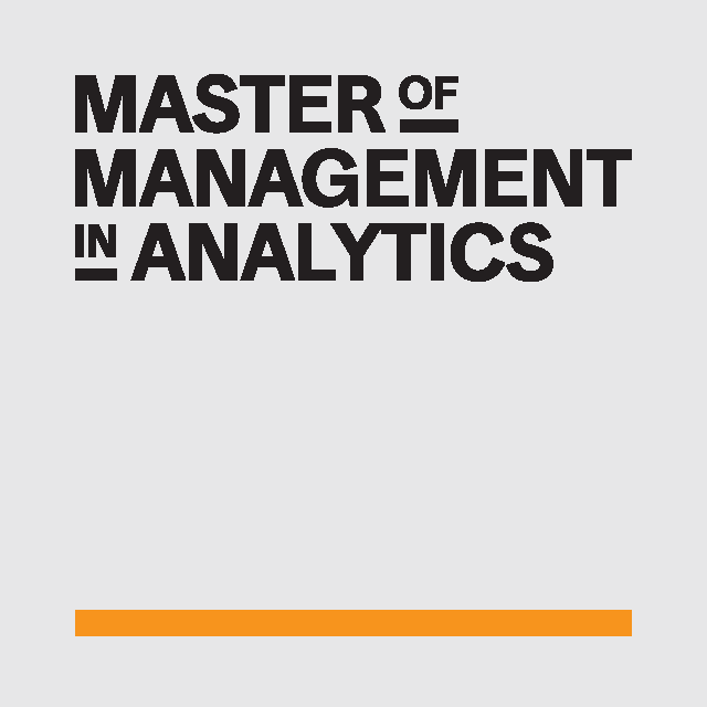 Masters of Management in Analytics (MMA)