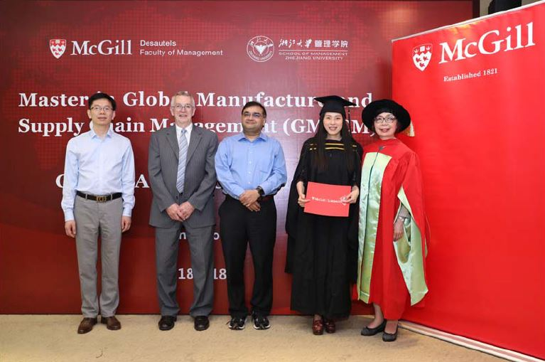 May 18, 2018 - Graduation Ceremony for 2015 cohort in Hangzhou
