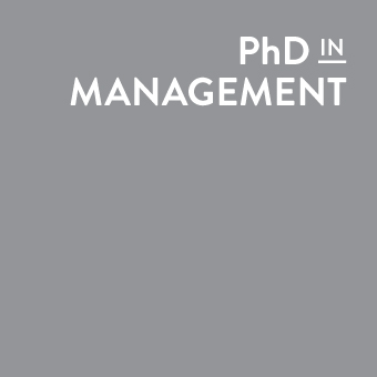 PhD in Management