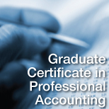 Graduate Certificate in Professional Accounting