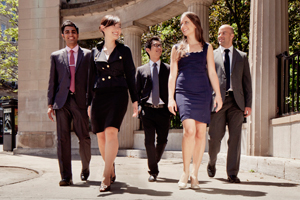 MBA students from the Desautels Faculty of Management