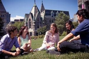 Undergraduate students on the main campus