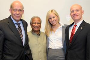 Speaker Series Dr. Muhammed Yunus 2010