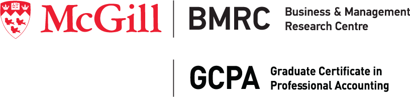 Business & Management Research Centre (BMRC) and Graduate Certificate in Professional Accounting (GCPA)