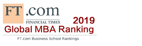 Financial Times Global MBA Ranking 2019