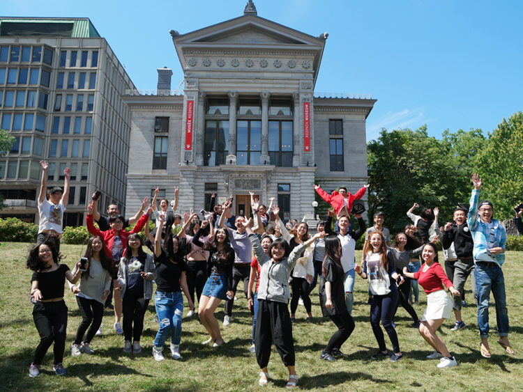 ISP 2016 Cohort on McGill Campus