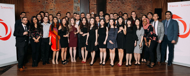 Second cohort of Masters of Management in Finance (MMF) students