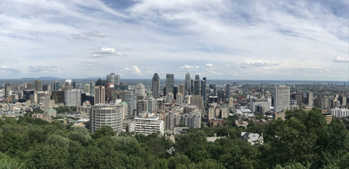 Photo of Mont Royal by Mercy, ISP'2018