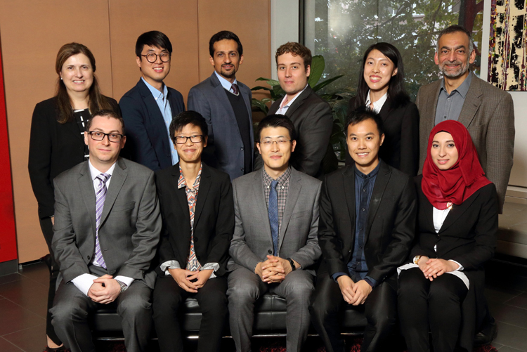 Newly accepted students - PhD incoming class of 2016