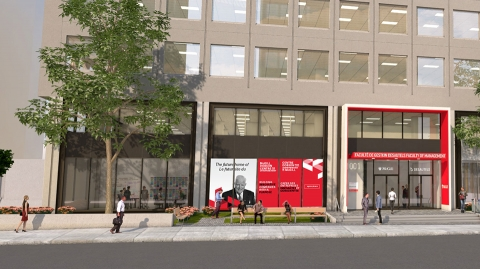 Dobson Centre receives $3M gift to bolster entrepreneurship at McGill