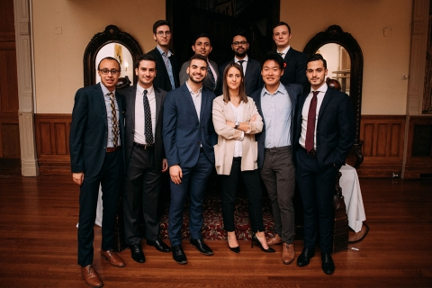 MMF students pitched their stocks to the industry in Montreal, Toronto and New York.