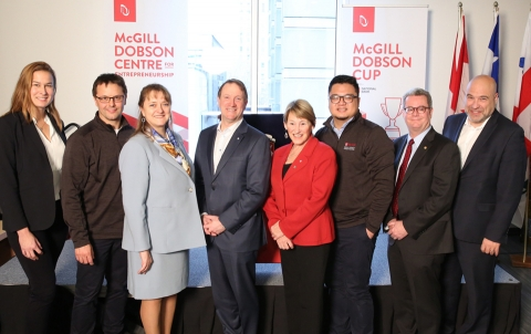 McGill University's Dobson Cup receives $4-million contribution from National Bank