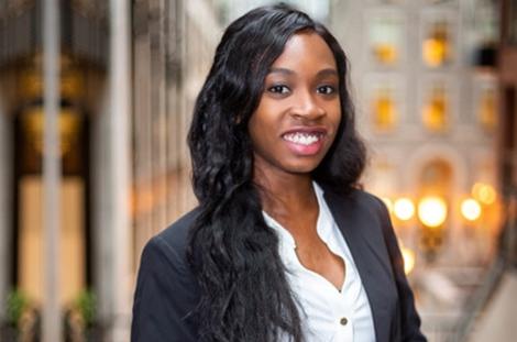 Elizabeth Chima (BCom'20), Valedictorian for the Desautels Faculty of Management
