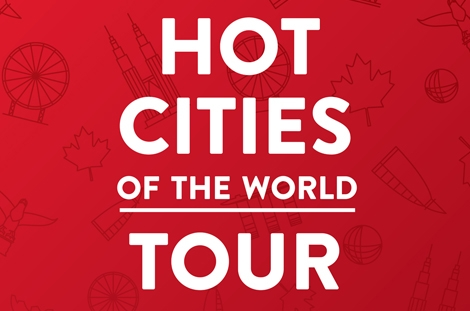Hotcities of the World