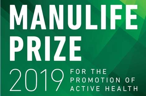 2019 Manulife Prize for the Promotion of Active Health