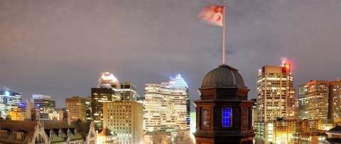 The vibrant city of Montreal, Quebec, Canada